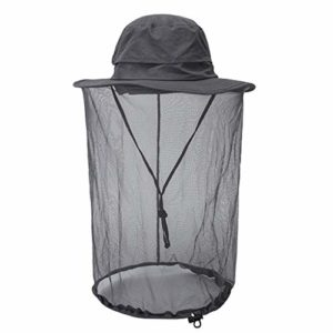 KKYU Insect Head Net Mesh Housse De Protection Masque Large Brim Sun Protection Chapeaux, Anti-moustique Bucket Hat Midge Hat with Net Mesh for Women/Men, Outdoor Fishing Equipment