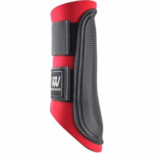 Woof Wear Club Guêtre – Red/Black Straps XL